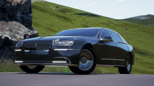 2021 Lincoln Town Car Rendering