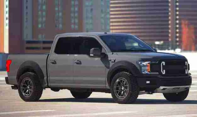 2021 Ford F-150 Raptor spy shot