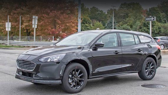 2021 Ford Fusion Wagon spy shot