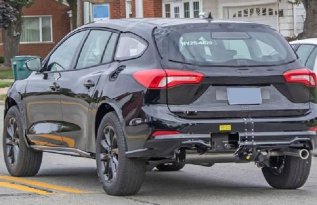 2021 Ford Fusion Wagon spy shot rear