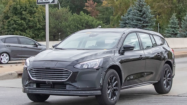2021 Ford Fusion Wagon spy