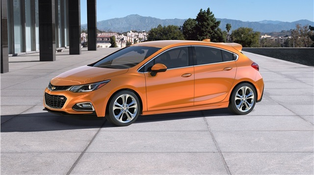 2021 Chevrolet Cruze hatchback